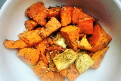 Zaatar sweet potatoes