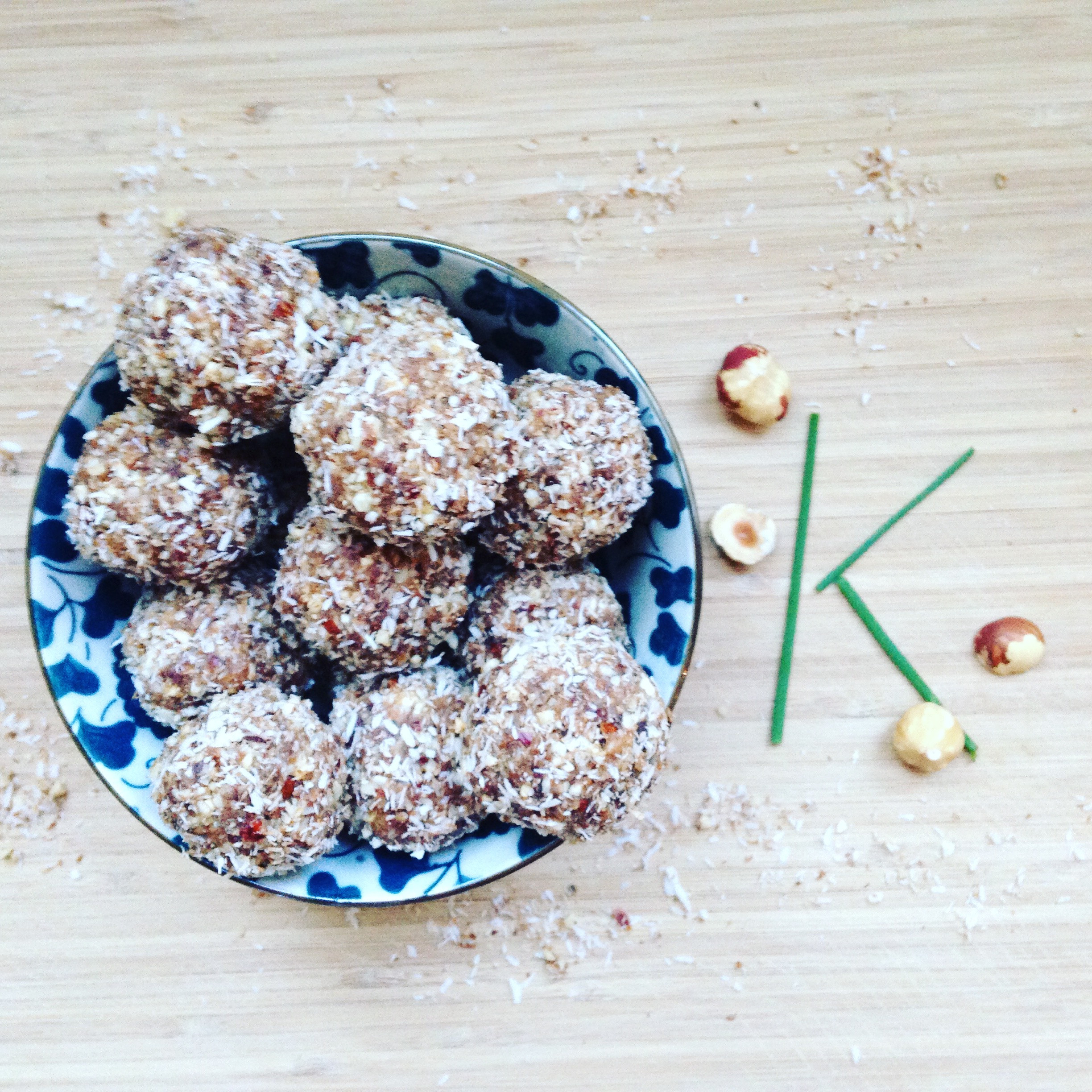 Coffee baci balls