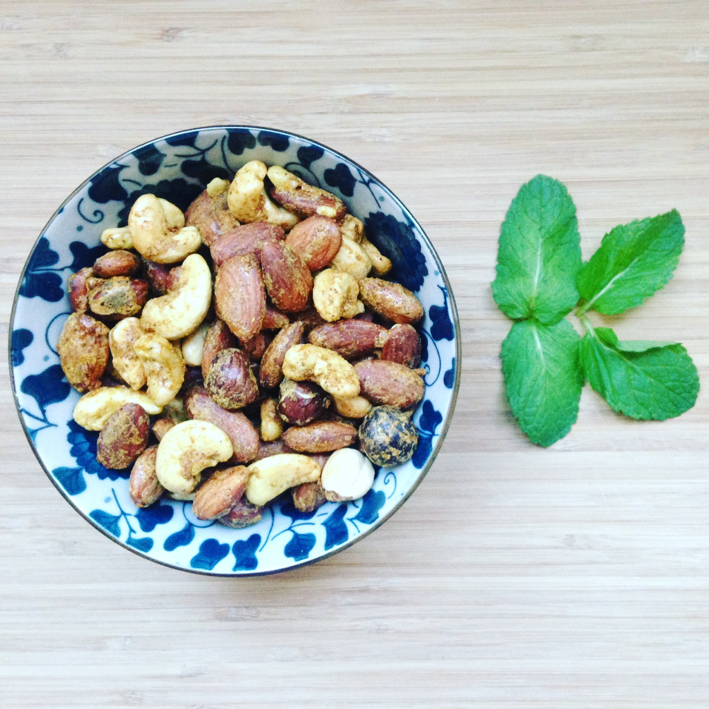 Curry nuts